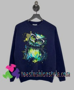 Owl Watercolor Sweatshirts By Teesfashionstyle.com