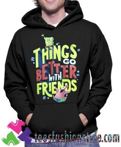 Spongebob Movie Sponge on The Run Hoodie By Teesfashionstyle.com