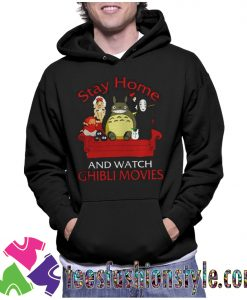 Stay home and watch Ghibli movies Unisex Hoodie