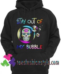 Sugar skull stay out of my bubble Murder Hornets Unisex Hoodie