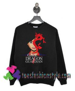 The Girl With The Dragon Guardian Mulan And Mushu Tattoo Sweatshirts