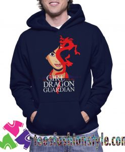 The Girl With The Dragon Guardian Mulan And Mushu Tattoo Hoodie