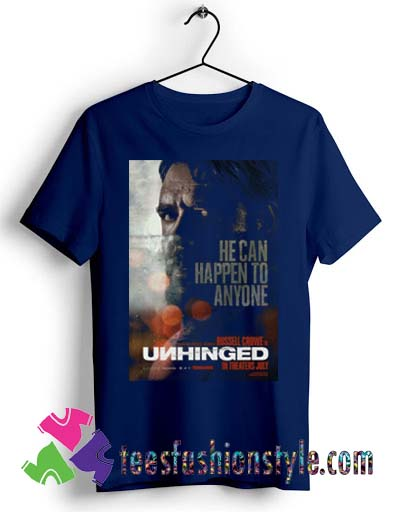 Unhinged Movie Cinema 2020 Poster T shirt For Unisex