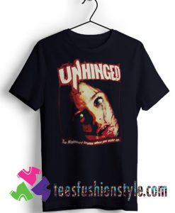Unhinged Movie Horror T shirt For Unisex By Teesfashionstyle.com