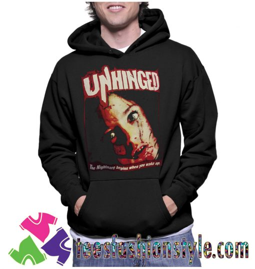 Unhinged Movie Horror Hoodie By Teesfashionstyle.com