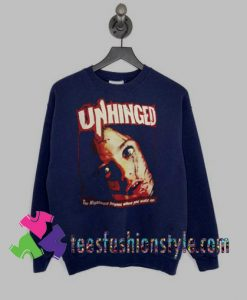 Unhinged Movie Horror Sweatshirts By Teesfashionstyle.com