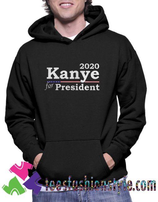 15949503012020 Kanye West For President Unisex Hoodie