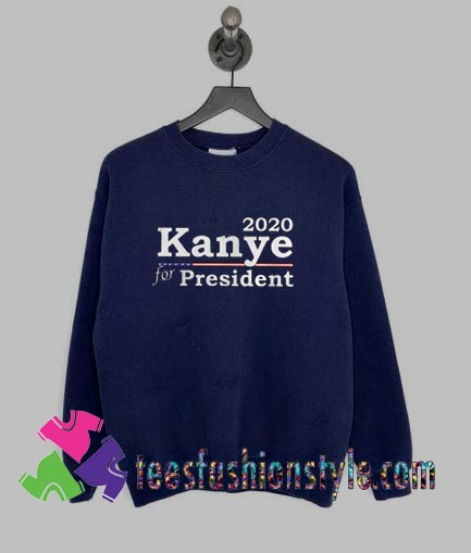 15949503012020 Kanye West For President Sweatshirts