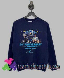 Anniversary Fernando Alonso Sweatshirts