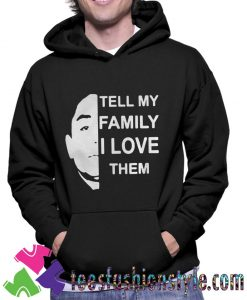 Anthony Dia Tell My Family I Love Them Classic Unisex Hoodie