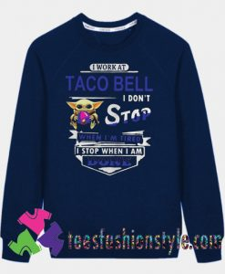 Baby yoda hug Sweatshirts