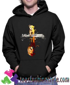 Cartoon The Lion King Simba Mufasa Unisex Hoodie