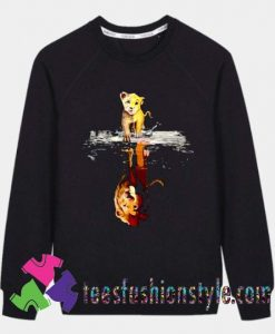 Cartoon The Lion King Simba Mufasa Sweatshirts