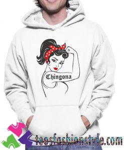 Chingona SVG Rosie the Hoodie