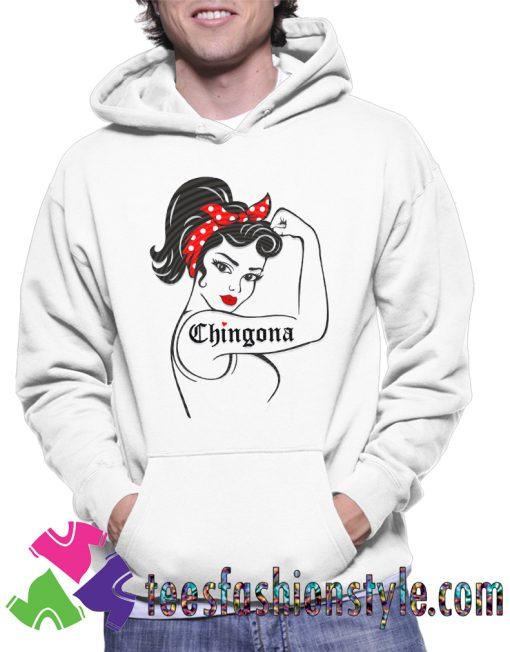 Chingona SVG Rosie the Hoodie