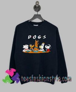 Dogs friend tv show Sweatshirts By Teesfashionstyle.com