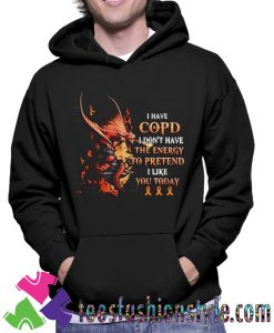 Dragon I Have Copd Hoodie
