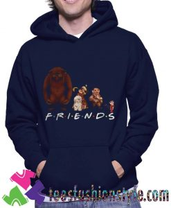 Labyrinth Characters Friends Unisex Hoodie
