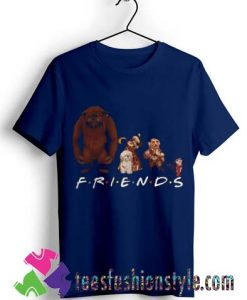 Labyrinth Characters Friends T shirt By Teesfashionstyle.com