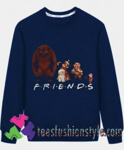 Labyrinth Characters Friends Sweatshirts