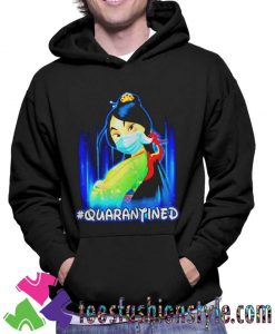 Mulan Princess quarantined Unisex Hoodie By Teesfashionstyle.com
