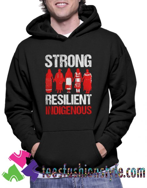 Strong resilient indigenous Unisex Hoodie By Teesfashionstyle.com