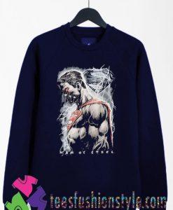 Superman Man of Steel Movie Action Sweatshirts By Teesfashionstyle.com