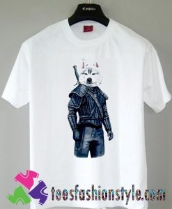 Top The Witcher Dog Movie T shirt For Unisex By Teesfashionstyle.com