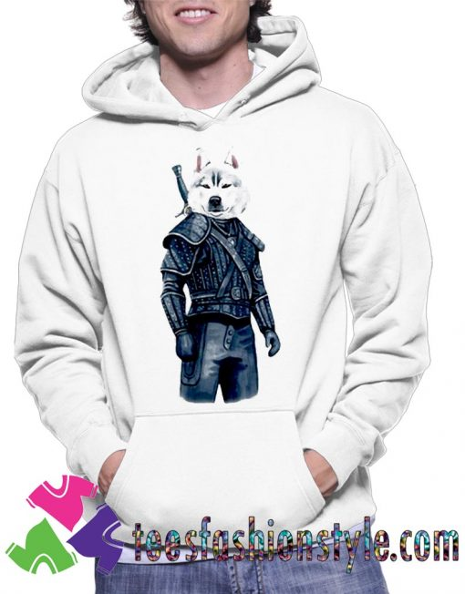 Top The Witcher Dog Movie Unisex Hoodie By Teesfashionstyle.com