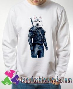 Top The Witcher Dog Movie Sweatshirts By Teesfashionstyle.com