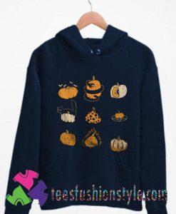 Pumpkins Halloween Vintage Hoodie