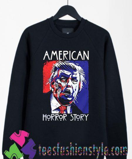 American Horror Story Donald Trump Halloween Sweatshirts