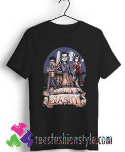 Ash vs Evil Dead Ashy slashy T shirt For Unisex