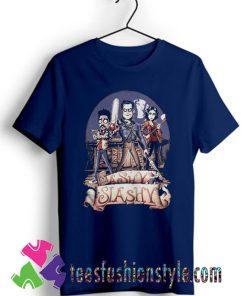Ash vs Evil Dead Ashy slashy T shirt For Unisex