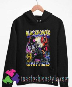 Black Panther Black Power United Unisex Hoodie