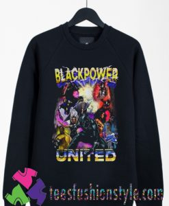 Black Panther Black Power United Sweatshirts By Teesfashionstyle.com