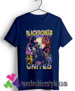 Black Panther Black Power United T shirt For Unisex
