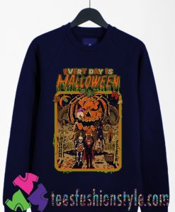EVERY DAY IS HALLOWEEN Sweatshirts By Teesfashionstyle.com