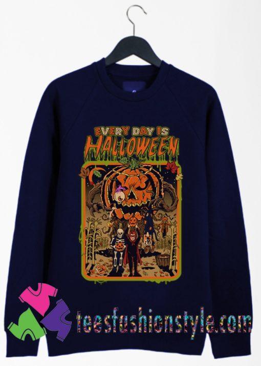EVERY DAY IS HALLOWEEN Sweatshirts By Teesfashionstyle.com