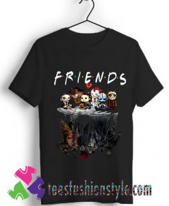 Friends Halloween Tshirt Halloween Horror Movie T shirt