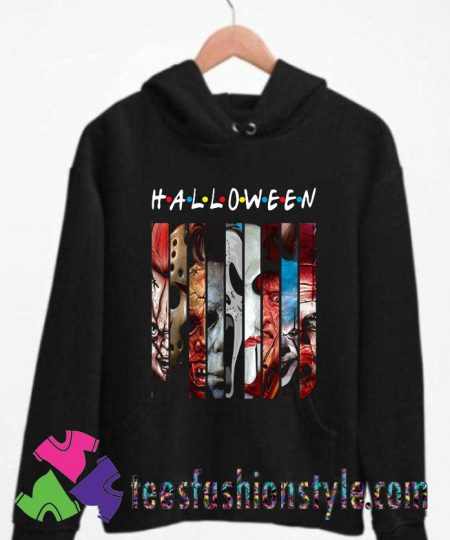 Halloween Horror Theme Friends Unisex Hoodie By Teesfashionstyle.com
