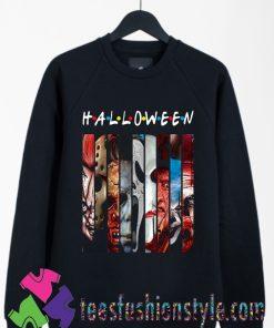 Halloween Horror Theme Friends Sweatshirt By Teesfashionstyle.com
