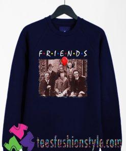 Horror Friends Shirt, Friends Halloween Sweatshirts