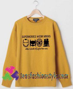 Nurses Superhero Sweatshirts By Teesfashionstyle.com