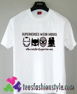 Nurses Superhero T shirt For Unisex By Teesfashionstyle.com