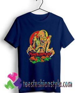 Pumpkinhead horror Halloween T shirt For Unisex.