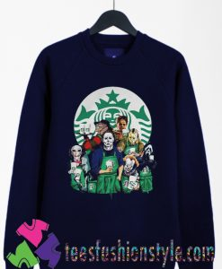 Characters Starbucks Halloween Sweatshirts By Teesfashionstyle.com
