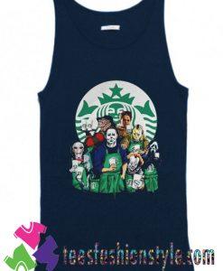 Characters Starbucks Halloween Tank Top