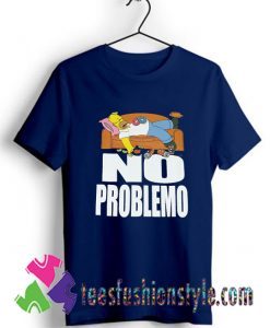 The Simpsons No Problemo Classic Vintage T shirt For Unisex