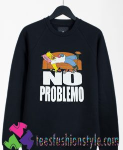 The Simpsons No Problemo Classic Vintage Sweatshirts